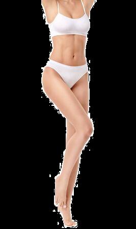 corps femme zone cryolipolyse